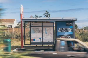 CellC Bus Shelter Cape Town